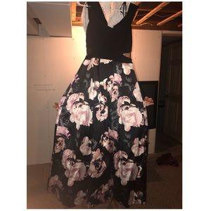 Floral Prom Dress!